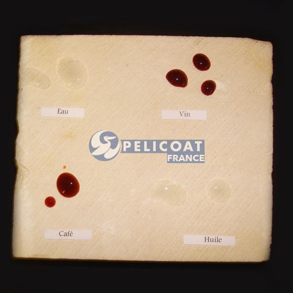 Pierre traitée Pelicoat France produits nettoyage renovation protection