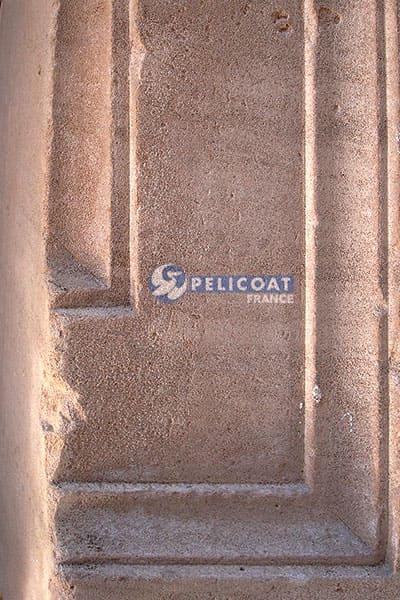 Essai mur en pierre Pelicoat France produits nettoyage renovation protection patrimoine laboratoire Pelicoat