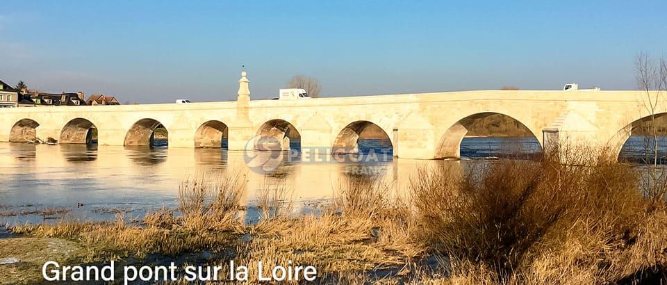 Grand Pont sur la Loire PRO CLEAN PRO ROC AQUEUX Pelicoat France produits nettoyage rénovation protection patrimoine